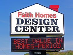 About faith homes design center Indiana home builders on your lot
