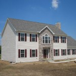 The process for setting modular home sections at your home site.