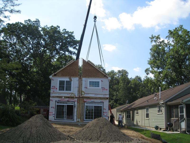 On-Site Building Process