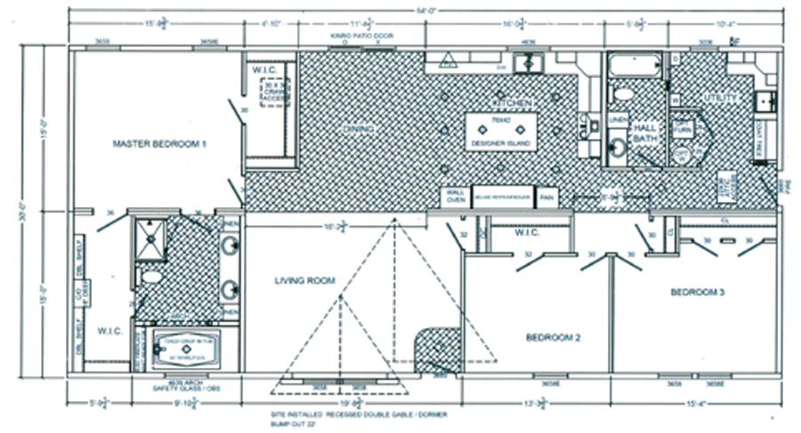 1980 sqft Ranch Model Home Sale4a